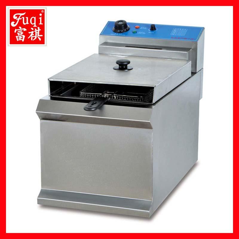 全国最低价格厂家直销 台式单缸单筛电炸炉【广州富祺】
