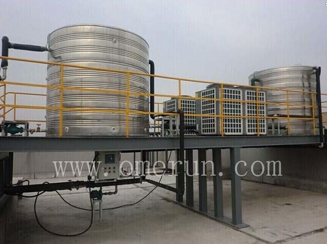 上海南京浙江宾馆安装空气能热水器找欧贝