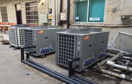学校企业员工宿舍大型商用空气能热水器工程厂家