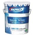 巴博丽水漆至尊高效能生态雪山白墙面漆