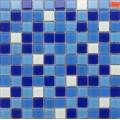 水上乐园水景艺术休闲泳池蓝色玻璃马赛克瓷砖