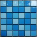 水景艺术休闲泳池卫浴中心蓝色陶瓷马赛克瓷砖