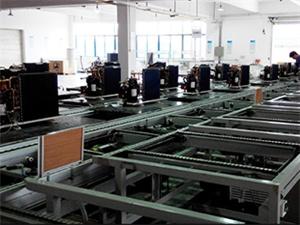 欧麦朗空气能工程商用--三联供冷暖热水机组