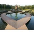 安徽木塑地板|生态木栈道|木塑户外地板|户外景观平台