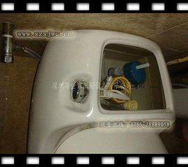 西安长安路维修马桶漏水,马桶水箱配件更换8