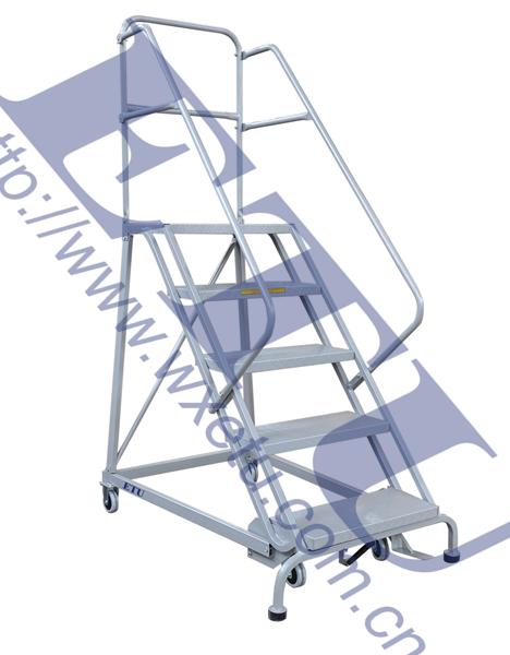 ETU易梯优|带自动锁定机构的可移动登高取货梯,仓库超市梯