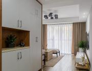 140平四房两厅 现代简约中还有一点点原木风 (16)