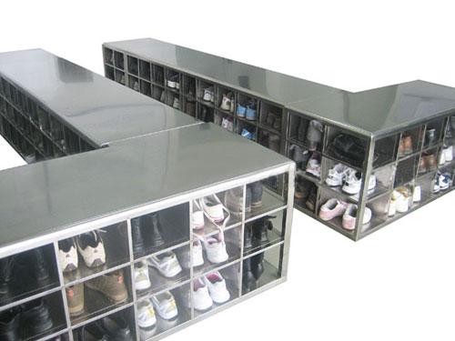 专业加工定做符合GMP认证的不锈钢更衣柜,不锈钢更鞋柜
