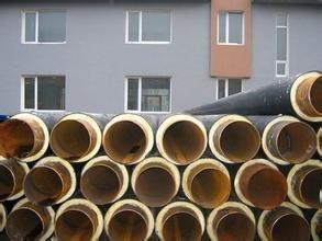专业生产聚氨酯发泡保温钢管3pe防腐保温钢管钢套钢保温钢管