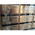 小区/别墅专用 镀钛/拉丝 不锈钢信报箱 信件箱