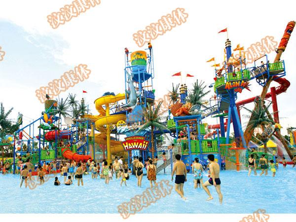 广东水上乐园设施 水上滑梯 玻璃钢 大型水上游乐设备生产厂家