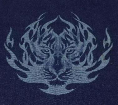 激光打标机在服装皮革业的应用