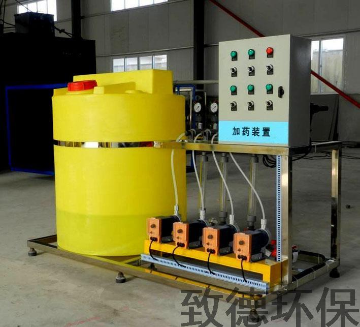 廊坊单桶单泵式一体化加药装置什么牌子好 致德环保