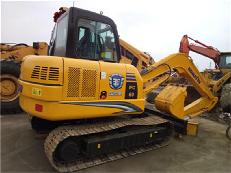省油王二手60挖掘机  高效率、性能平稳、力量强劲