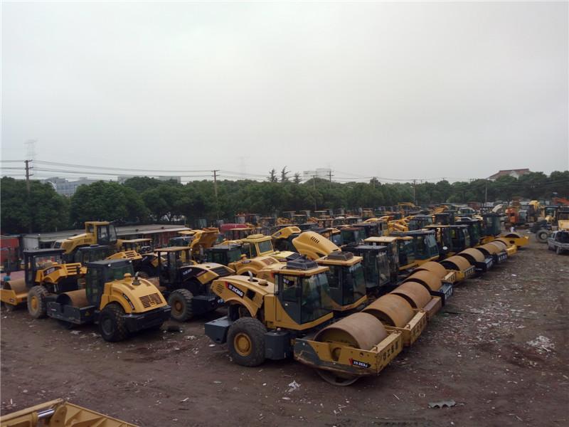 二手徐工22吨压路机怎样选择更划算
