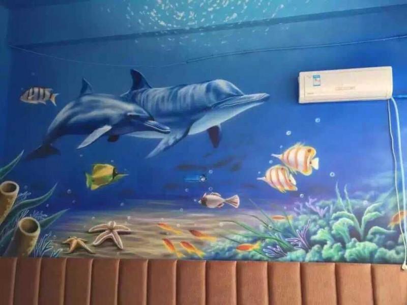 广州墙绘壁画彩绘专业承接幼儿园儿童乐园手绘涂鸦粤江彩绘公司