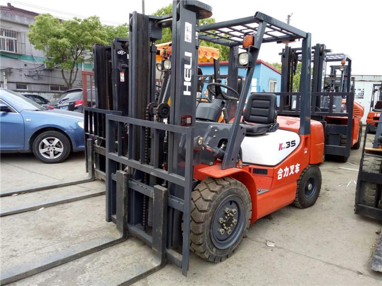 实用的二手叉车-优质二手合力3.5吨叉车供应商推荐