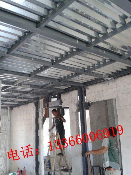 北京钢结构公司别墅钢结构