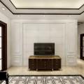 中式瓷砖护墙板装饰电视背景墙全屋定制